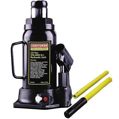 Craftsman 9-50284 12 Ton Hydraulic Bottle Jack