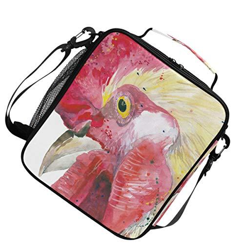 Épaule Animal Ferme Oiseau Main De Coq Pour Pique-nique Sac À Langer Sangle Réglable Chaud Froid Cooler Isolé