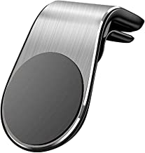Meet-GT Magnetic Car Phone Mount, Air Vent Magnetic Car Mount Phone Holder with Super Strong N38 Magnet for iPhone Xs Max XR Plus Samsung Galaxy Pixel and More (Silver)