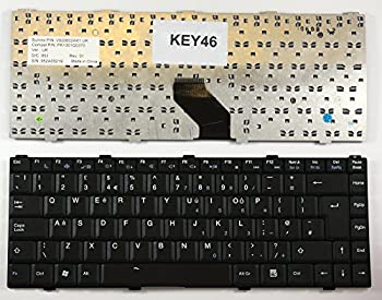 Keyboards4Laptops UK Layout Black Laptop Keyboard Compatible with Asus KBC-01-UK Asus MP-05696GB-6984 Asus MP-05696GB-C58 Asus PK1301Q0270 Asus PK1301Q0370