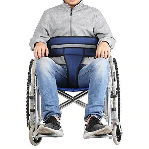 HEALLILY cinturón de Seguridad para Silla de Ruedas Correa Antideslizante para Silla de Ruedas restricción Ajustable Cintura Correas para el Cuidado de Pacientes de Edad Avanzada