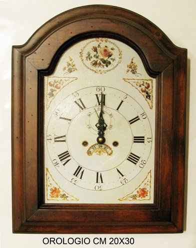 Horloge 20 x 30 cm.