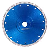 Super Thin Diamond Tile Blade Porcelain Saw Blade for Cutting Porcelain Tile Granite Marbles (10')