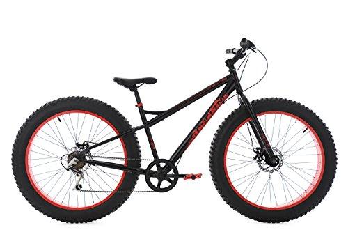 KS Cycling Mountainbike MTB Fatbike 26'' schwarz-rot RH43cm