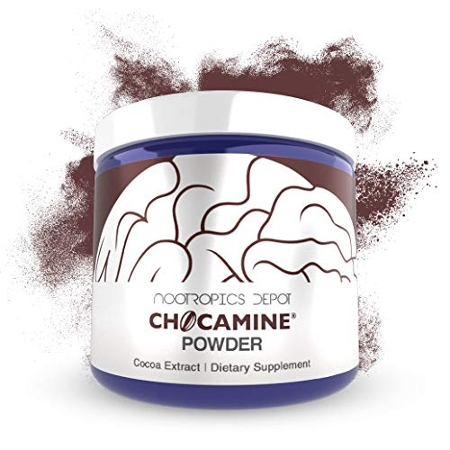 Chocamine Cocoa Extract Powder 125 Grams | Oxidation Support Supplement | Promotes Energy, Endurance and Stamina | Supports Mental Acuity, Concentration and Mood from Nootropics Depot