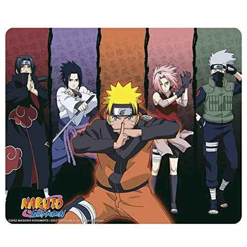 ABYstyle - Naruto Shippuden - Tapis de Souris Souple - Groupe