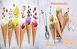 Best 10 homemade ice cream recipes: Ice Cream Recipe Book | How to Make Homemade Ice Cream | Simple and Easy Ice Cream Recipes | Delicious Homemade Ice Cream