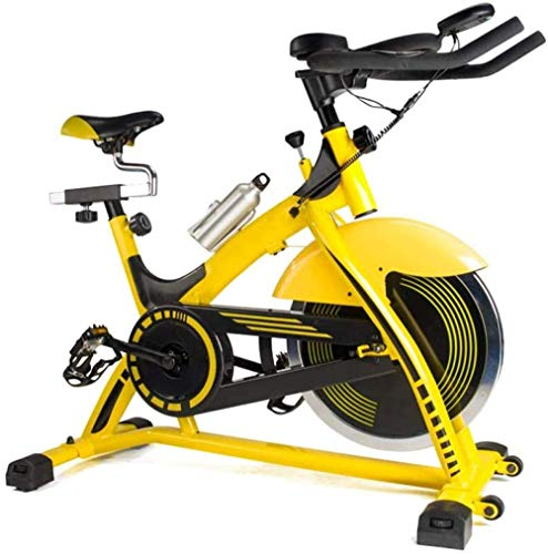 Indoor Cycling Bike hometrainer met LCD-scherm en hartslag Test Roller Design for een eenvoudige beweging instelbare weerstand for Office Gym Uptodate ZHANGKANG