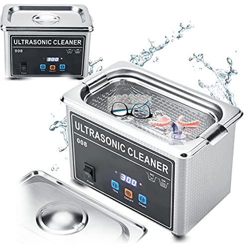 Ultrasonic Ultraschallreinigungsgerät Ultraschallreiniger Reinigung, Zertifizierungen ROHS, FCC und CE Brillenreiniger, Ultraschallreiniger, Reinigungsmaschine, Schmuck, Reiniger