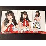 元AKB48 チーム8 谷川聖 第8回 AKB48紅白対抗歌合戦 会場生写真3種コンプ