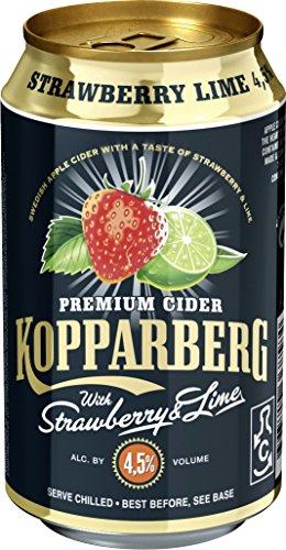 Kopparberg Cider Erdbeere-Limette (24 x 0.33 l)