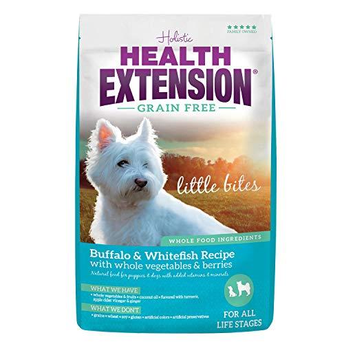 Health Extension Grain Free Buffalo & Whitefish Recipe Little Bites, 23.5-Pounds