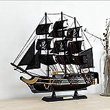LVSSY-Black Pearl Schiffsmodell Hobby Holz Schiffsmodelle DIY Schiffsmodellbausatz Bootsschiffe Kits Segelboot Holzmodellbausatz Spielzeug Dekoration Spielzeug Geschenk -