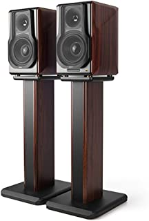 Stands Speaker Stand Wooden Floor Heightened And Stable Bracket Can Be Filled With Sand Home Speaker Stand 65cm (Color : B...