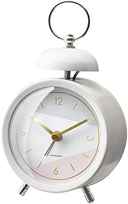 インターフォルム 時計 置時計 ホワイト 幅9×高さ16×奥行5.5 Dineal ディネル CL-3032WH