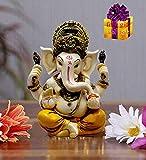 SN Handicrafts Ganesha Idol Ganesha Statue ganpati vinayak Ganesh Home Decor Showpiece Gift Size(4 x 3 x 2 inches)