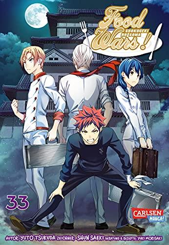 Food Wars - Shokugeki No Soma 33: Heiße Koch-Action im Internat – Mit Rezepten zum Nachkochen