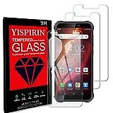 YISPIRIN [3 pezzi] Cristal Templado para Oukitel WP5, Dureza 9H, Anti - arañazos Anti-Rasguño,Fácil de instalar, Vidrio Templado Protector de Pantalla para Oukitel WP5