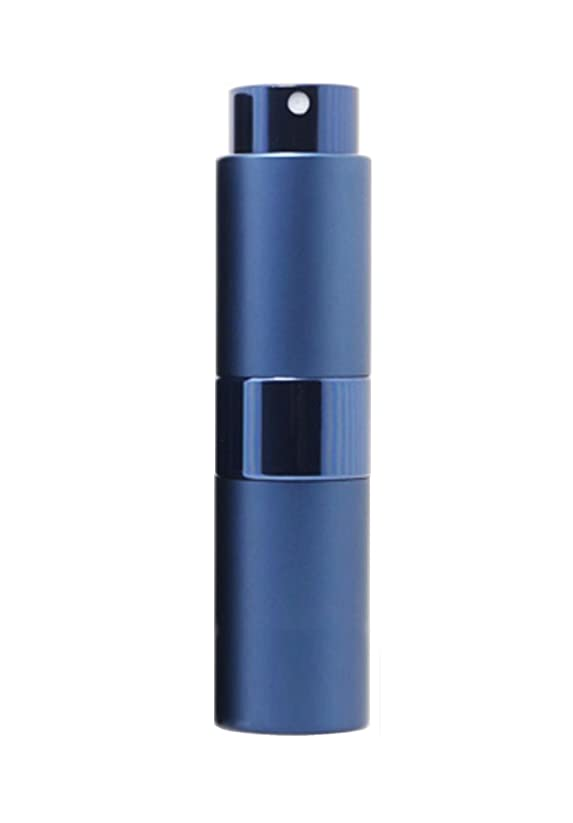 仮定、想定。推測セットする自信があるNYSh 香水 アトマイザー プッシュ式 スプレー 詰め替え 携帯 身だしなみ メンズ 15ml (ブルー)