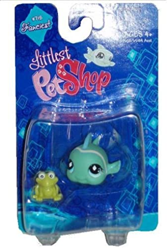 estilo clásico Littlest Pet Pet Pet Shop Fanciest Single Figure verde Fish by Hasbro  servicio considerado
