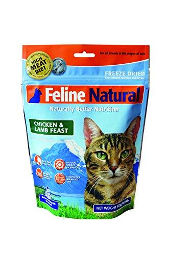 K9 Feline Natural Chicken & Lamb Feast Freeze Dried Raw Cat Food 0.28-lb Bag