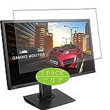 VacFun 3 Piezas Claro Protector de Pantalla, compatible con ASUS MG28UQ 28' Display Monitor, Screen Protector Película Protectora(Not Cristal Templado) NEW Version