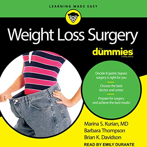 Weight Loss Surgery for Dummies audiobook cover art