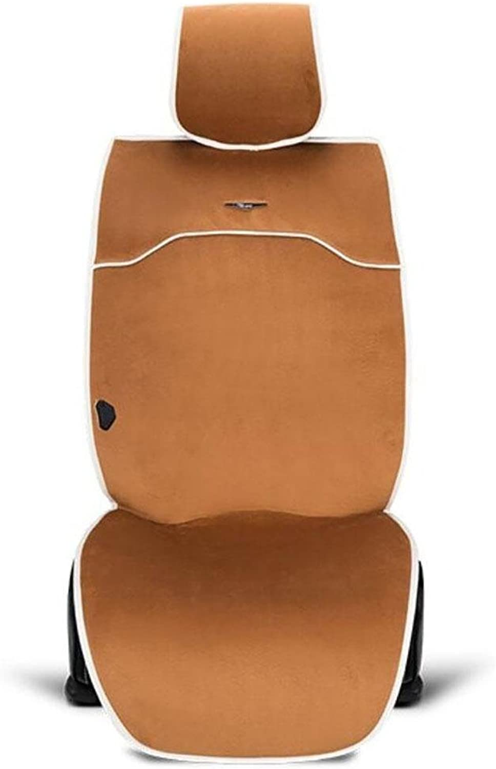 D&F 12V Heated Seat Cushion Cover with Lumbar Suppor,Cigarette Lighter Plug, Special Fitting (greenical)with Thermostat