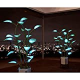 LED Lights for Bedroom Lighted Bonsai Plants Table Lamp Modern Home Decor-Artificial Plants for Home Decor Indoor (A)