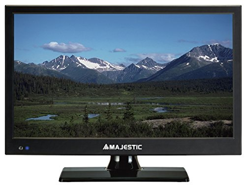 "Majestic TVD-215 S2 MP09 TV 15,6"" LED Full HD 1920x1080 DVB-T2 USB Presa Accendisigari 12V"