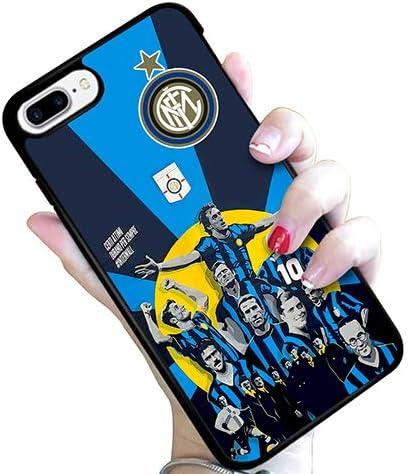 quickgadget Cover Morbida in TPU per iPhone 7/8 per Tifoso Interista Inter Wall