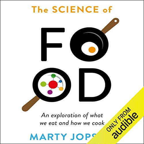 The Science of Food audiobook cover art