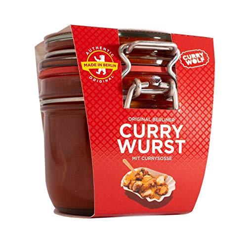 Original Berliner Currywurst (1x220g) im hochwertigen Bügelverschlussglas