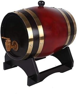 Tonneau à vin en Bois Tonneau en Chêne 5L, Tonneau De Vin, Tonneau De Vin Fabriqué par Soi-même, sans Vésicule Biliaire, D...