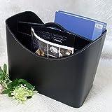 Organizador De Escritorio En Negro (pequeño): Caja De Accesorios De Escritorio Tijeras Bolígrafos Etiquetas Adhesivas Y Más