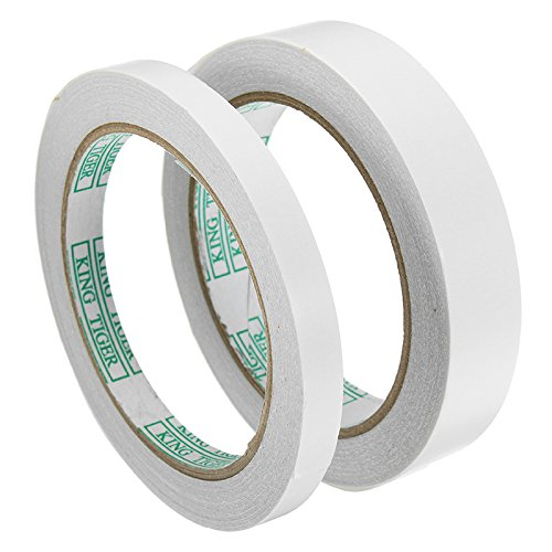 EsportsMJJ 20m dubbelzijdig tape olieachtige lijm hoge temperatuur resistente tape 2 breedtes, 2, 1