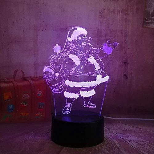3D Nachtlicht New Swan Lake Balletttänzer 3D RGB LED Nachtlichter Touch Fernbedienung Schreibtischlampe Romantische Weihnachtsgeschenkraum Bar Decortion Controller 7 Farbe Ballett 3 Tänzer