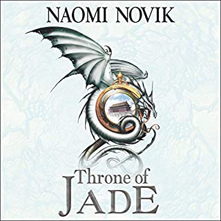 Throne of Jade      The Temeraire Series, Book 2              By:                                                                                                                                 Naomi Novik                               Narrated by:                                                                                                                                 Simon Vance                      Length: 11 hrs and 43 mins     41 ratings     Overall 4.7