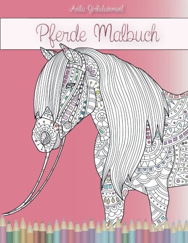 Pferde Malbuch Anita Girlietainment
