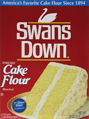 Swans Down, Cake Flour, 32oz Box (Pack of 2)