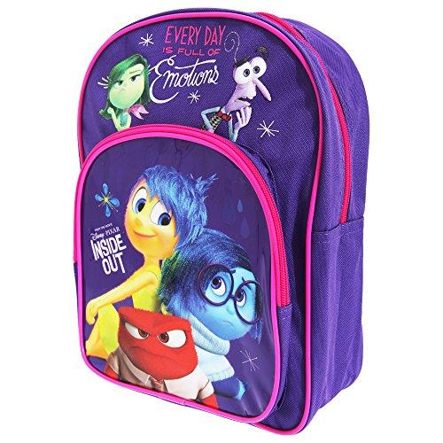 51fkqyGGA4L - Disney - Mochila oficial de Inside Out para niños