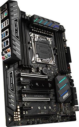 MSI Pro Series Intel X299 LGA 2066 DDR4 USB 3.1 SLI ATX Motherboard (X299 SLI PLUS)