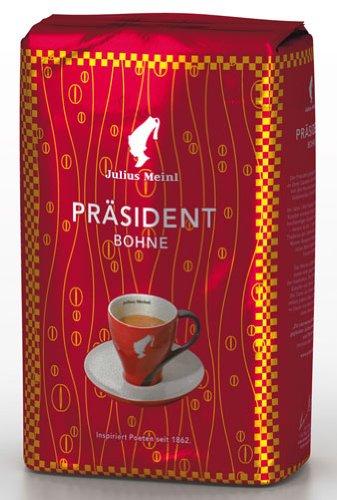 Julius Meinl Präsident, Ganze Bohne - 500gr - 4x