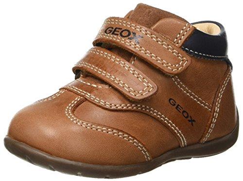 Geox Baby Jungen B Kaytan A Sneaker, Braun (Brandy/Dk Navy C6a4p), 23 EU