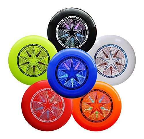 Discraft Ultimate Bundle - 6 Discraft Ultra Star Ultimate Sport Discs by...