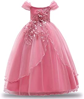 Girls Dress Winter Christmas Party Kids Dresses For Girls Long Wedding Dresses Toddler Princess Dress