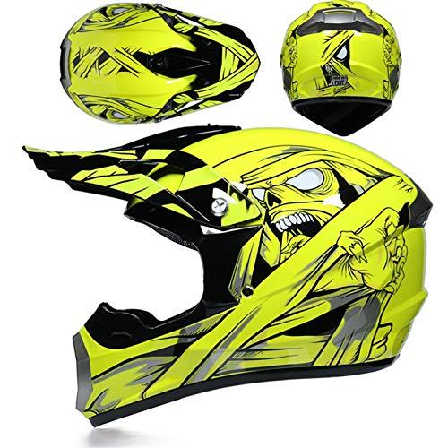 Casco de motocross para hombre y mujer, casco de moto off-road, casco...