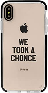 Ultra Slim iPhone Case - Silicone Protective Cover - Compatible for iPhone XR - We Took A Chonce - 1Daf - Professional Fangirl - Black Flexible Soft TPU Cover Case