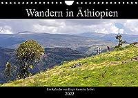 Wandern in Aethiopien (Wandkalender 2022 DIN A4 quer): Fotowanderung durch das Semien Gebirge im Norden Aethiopiens. (Monatskalender, 14 Seiten )