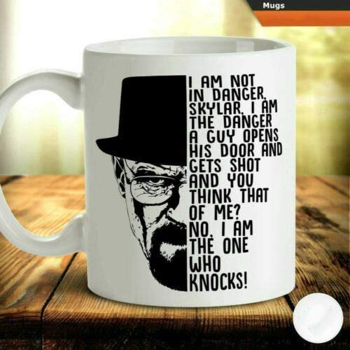 Breaking Bad Walter White 's Iconic Line I' m The Danger Coffee Mug - White Gift For Friend Lover Fan Parents In Christmas Birthday